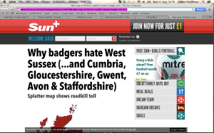 http://www.thesun.co.uk/sol/homepage/features/5007486/New-map-of-British-roadkill-reveals-badger-toll.html